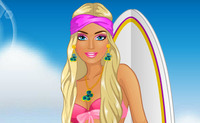 Barbie Goes Surfing