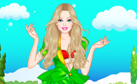 Barbie St Patricks Day Dress Up