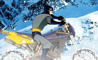 Batman Winter Bike