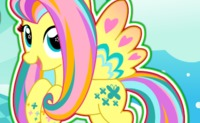 Fluttershy Rainbow Power Style