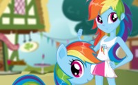 Rainbow Dash Pony VS Human
