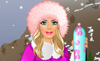 Barbie Goes Skiing
