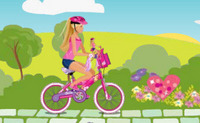 Barbie & Me: Bike Game