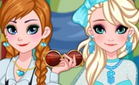 Frozen Sister Graduation Makeover