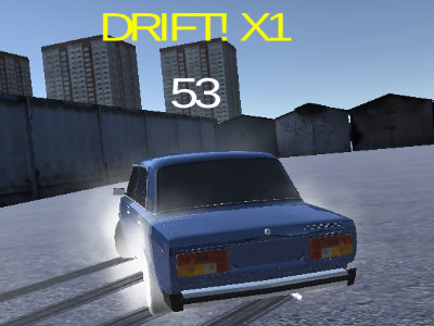 Lada Russian Car Drift