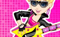 Polly Pocket Rock Star Dress-Up